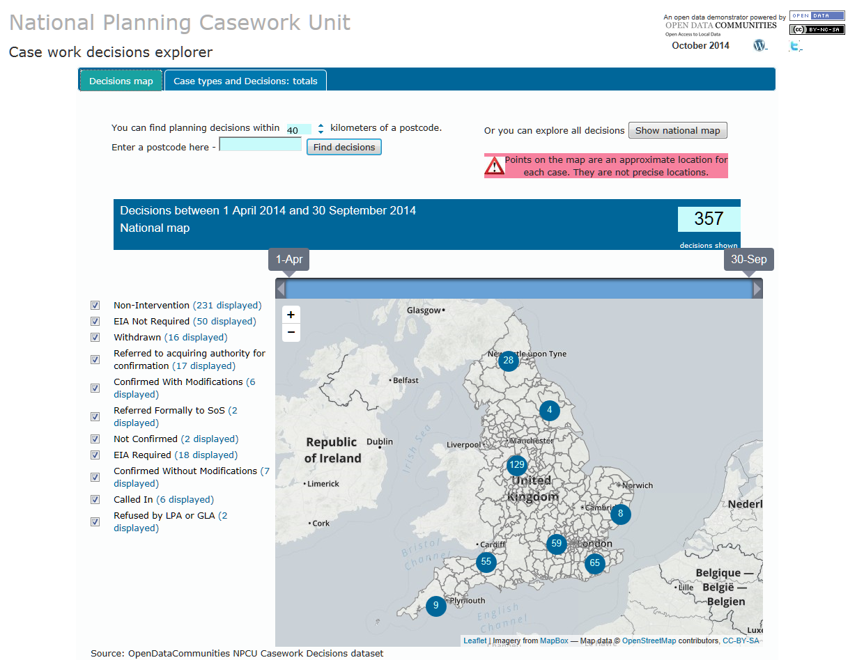 Explore our new National Planning Casework data