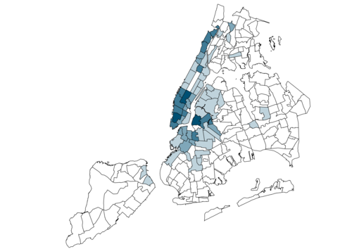 Mapping New York's Noisiest Neighborhoods