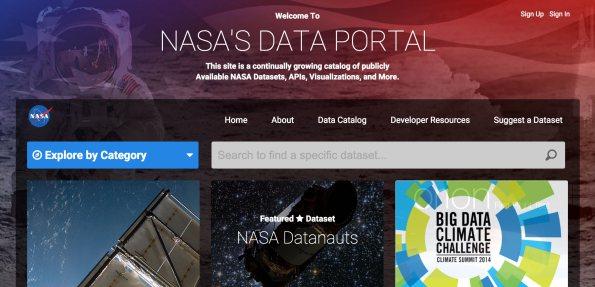 NASA's New Data Portal