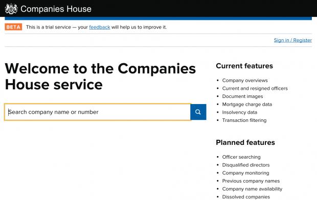 Congratulations, Companies House