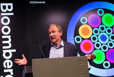 Sir Tim Berners-Lee reveals the world's most influential open data leaders
