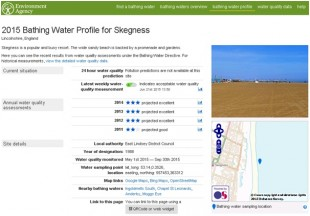 Updating our Bathing Water Data services for the new season
