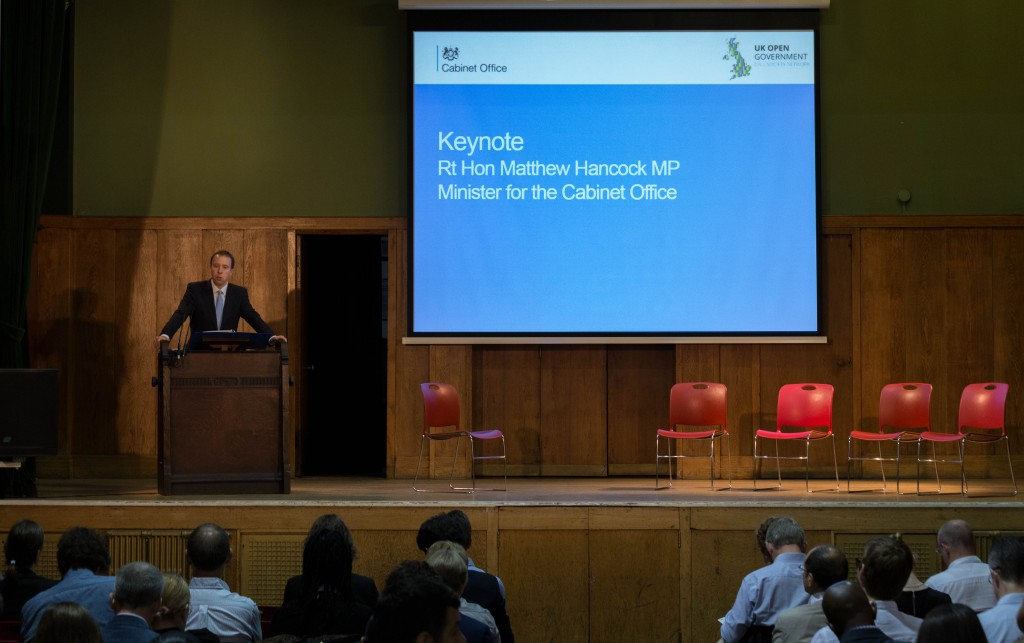 Matt Hancock speech at UK OGP National Action Plan development launch