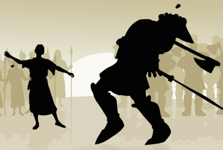 The art of battling giants with open standards