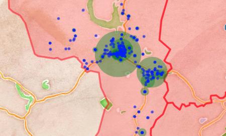 Visualising Hebden Bridge businesses with OpenCorporates data