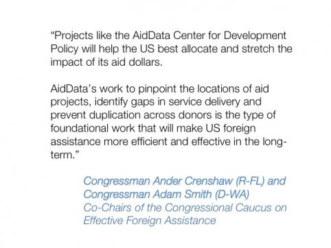 """Achieving a """"New Normal"""": Mapping the Future of the AidData and U.S. Global Development Lab Partnership"""