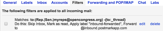 Email Congress Revamp