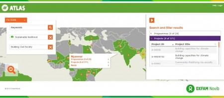 ATLAS: Oxfam Novib's Open Data in Action