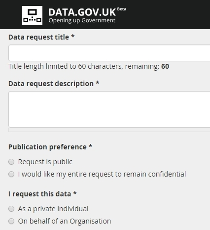 Unlocking open data: can we fix the Data.gov.uk request process?