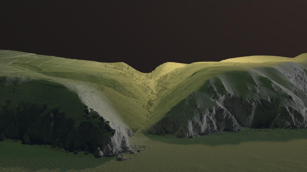 Blender landscapes – EA open data
