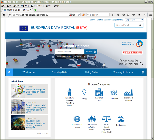 EC brings pan-European open data together on European Data Portal