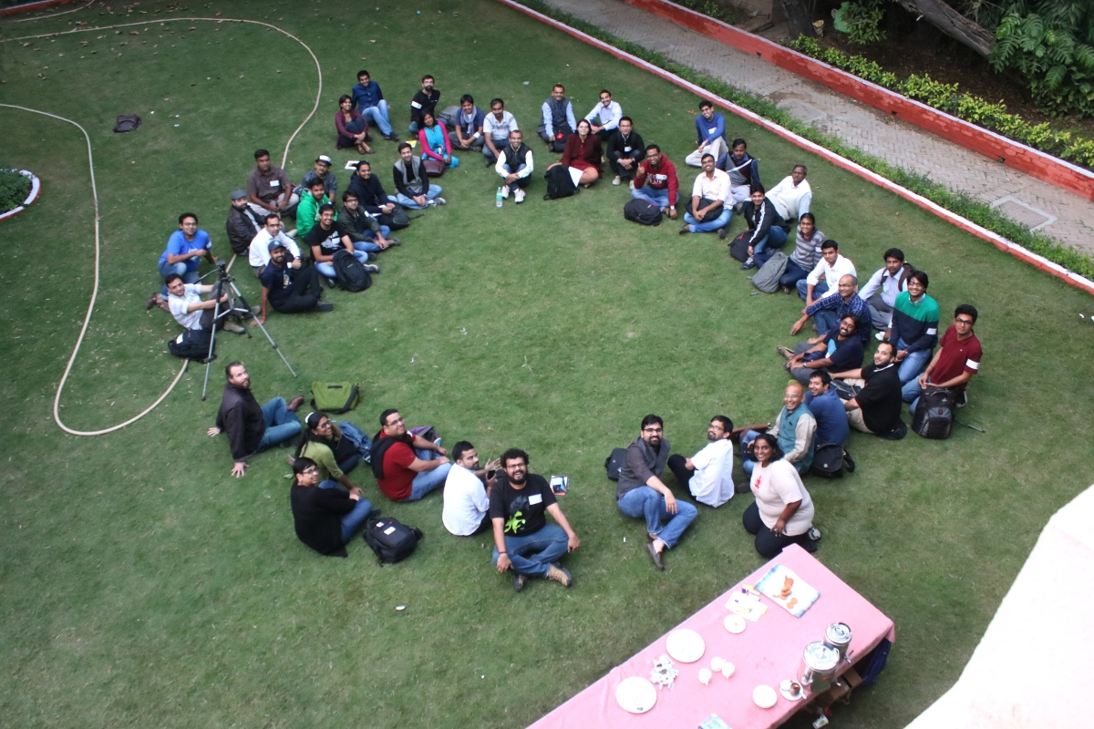 A Successful Camp: Open Data, Governance, Digital India and Caddisfly