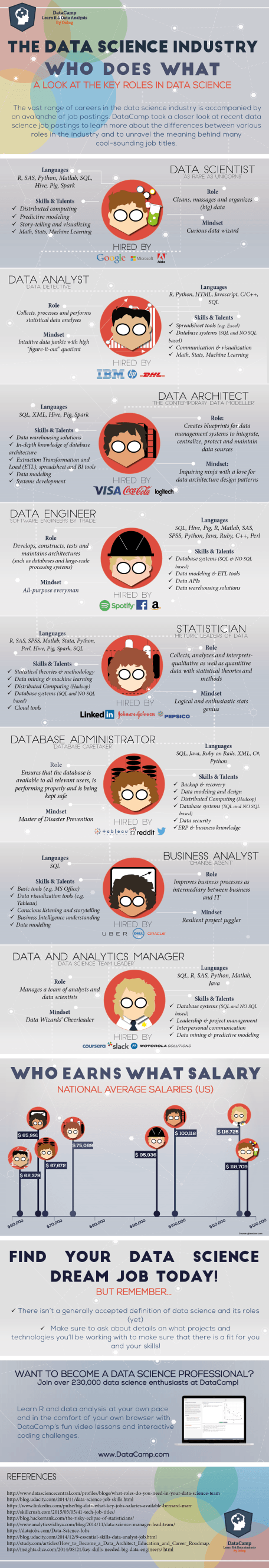 The Data Science Industry: Who Does What (Infographic)