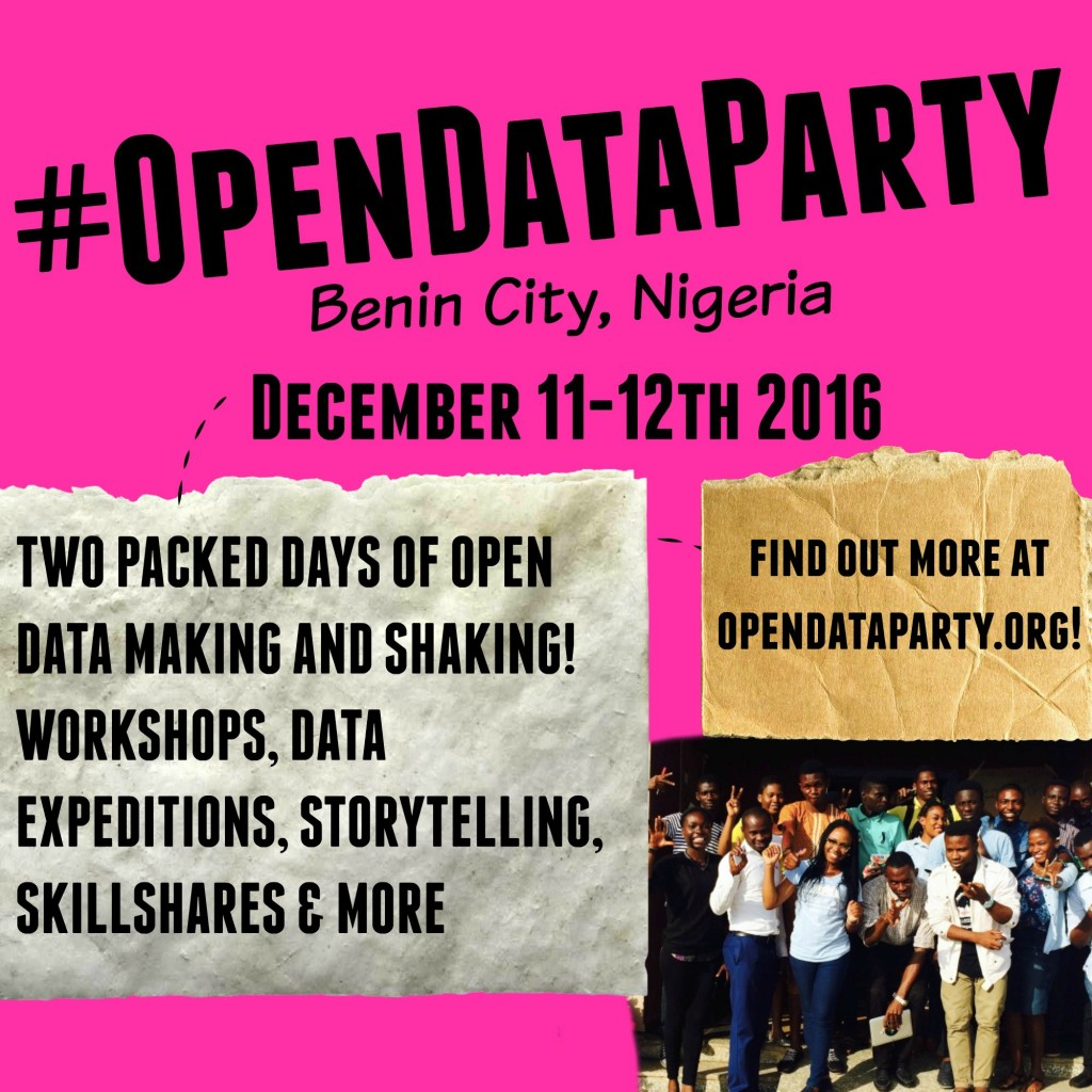 Second #OpenDataParty Comes to Benin City, Nigeria