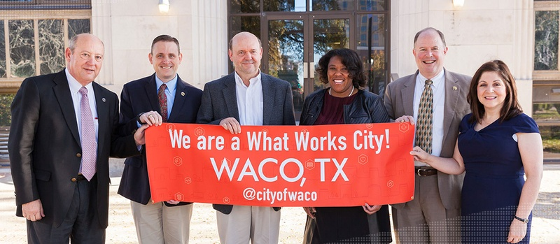 Waco becomes 4th What Works City to pass an open data policy