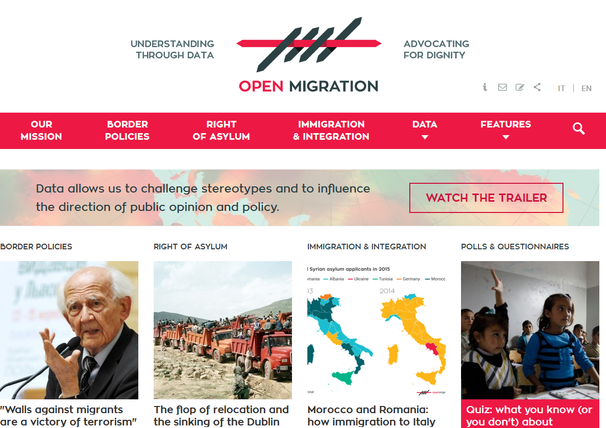Open Migration: Using Data To Understand The Refugee Crisis