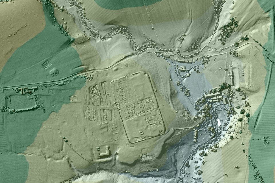 You (yes, you) can find Roman roads using data collected by lasers