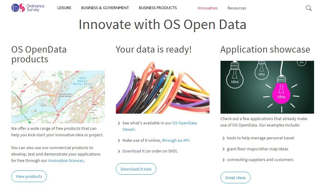 Geographic Open Data — Where to start?