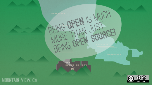 Open is a means, not a movement